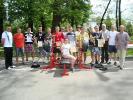 Mistrzostwa Powiatu w Wyciskaniu Sztangi Leżąc